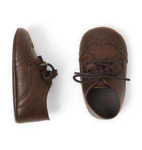 Oxford Crib Shoe