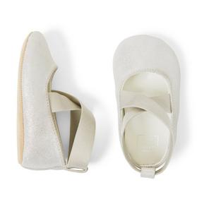 Shimmer Ballet Crib Shoe