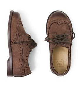 Leather Wingtip Shoe