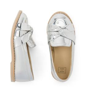 Metallic Knot Loafer