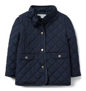 Quilted Bow Jacket