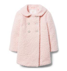 Bouclé Sherpa Coat
