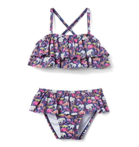 Liberty® Queue For The Zoo 2-Piece Swimsuit