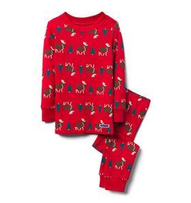 Moose Pajama Set