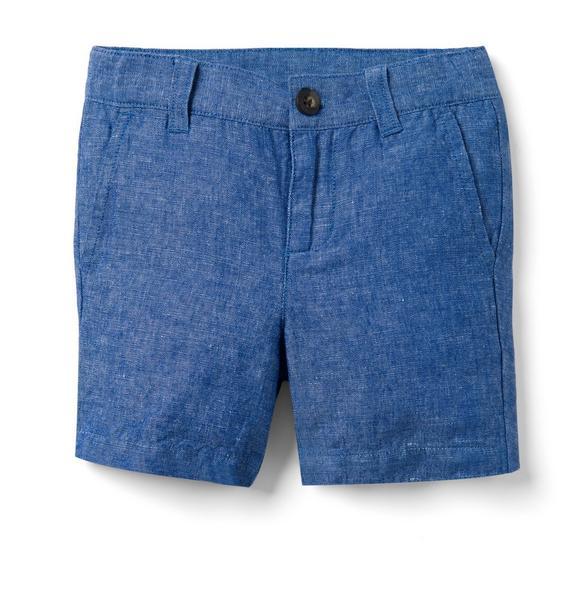 Chambray Linen Short