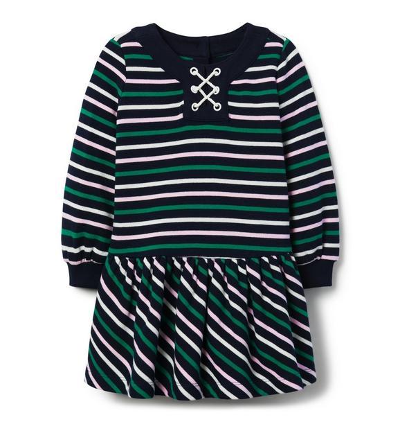 Striped Dropwaist Dress