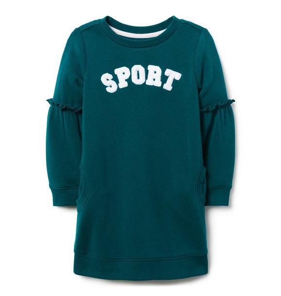 Sport Ruffle Sleeve Dress