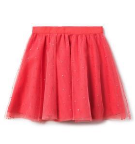 Tulle Dot Skirt