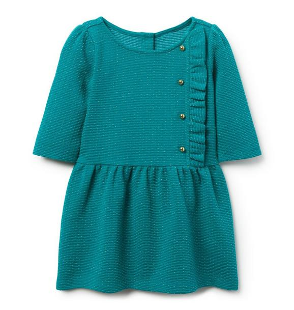 Shimmer Dot Jacquard Dress