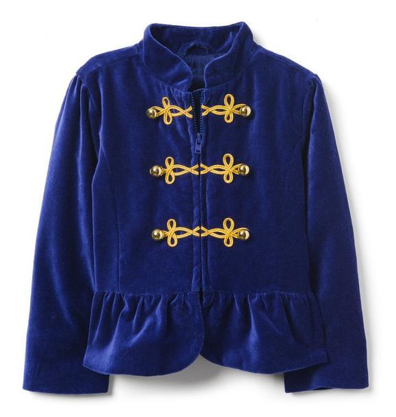 Velvet Band Jacket