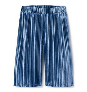 Velvet Pleated Pant