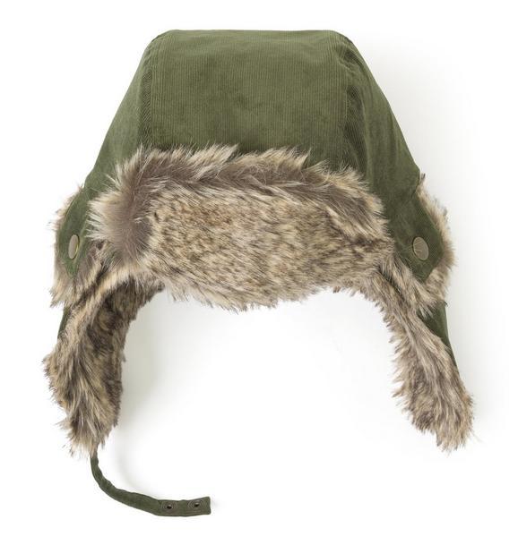 Faux Fur Lined Hat