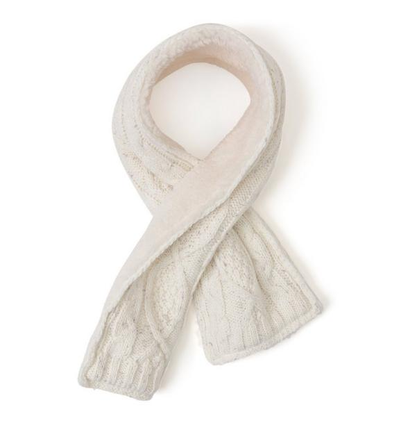 Sherpa Lined Scarf