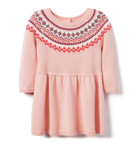 Fair Isle Dress