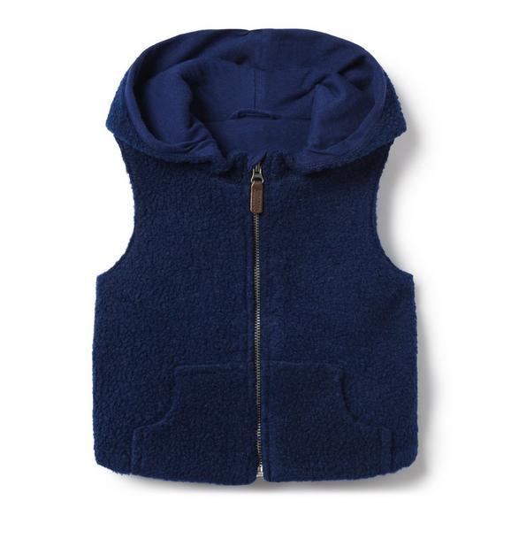 Sherpa Hooded Vest