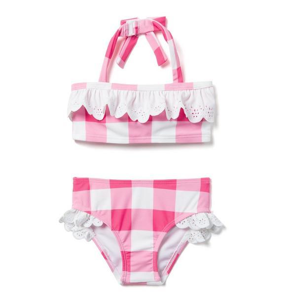 Gingham 2-Piece Swimsuit