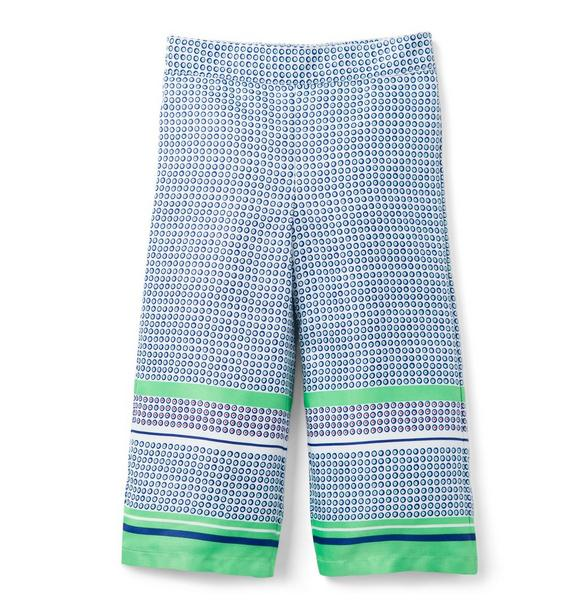 Dot Wide-Leg Pant