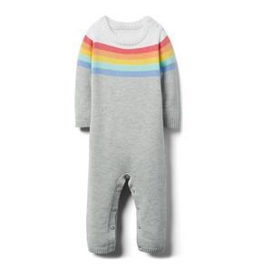 Striped Rainbow 1-Piece
