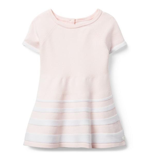 Striped Hem Sweater Dress
