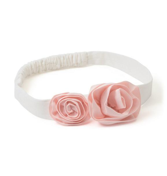 Soft Rosette Headband