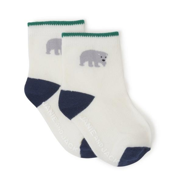 Polar Bear Sock