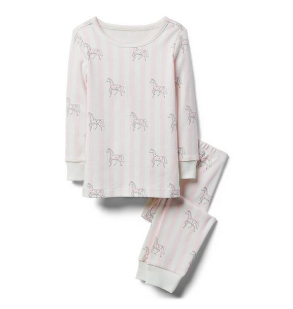 Horse Print Pajama Set
