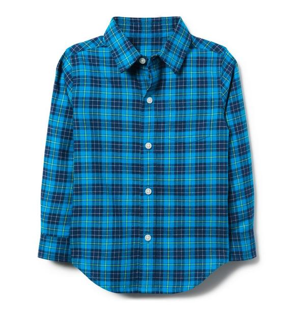 Plaid Brushed Twill Shirt