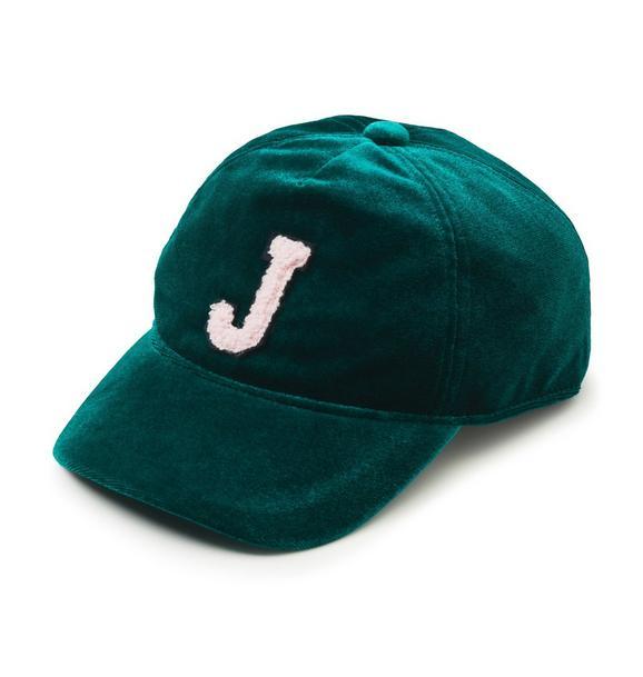 Velvet Logo Hat