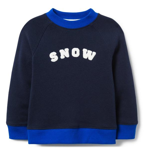 Snow Sweatshirt