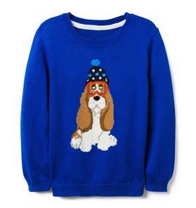 Ski Dog Crewneck