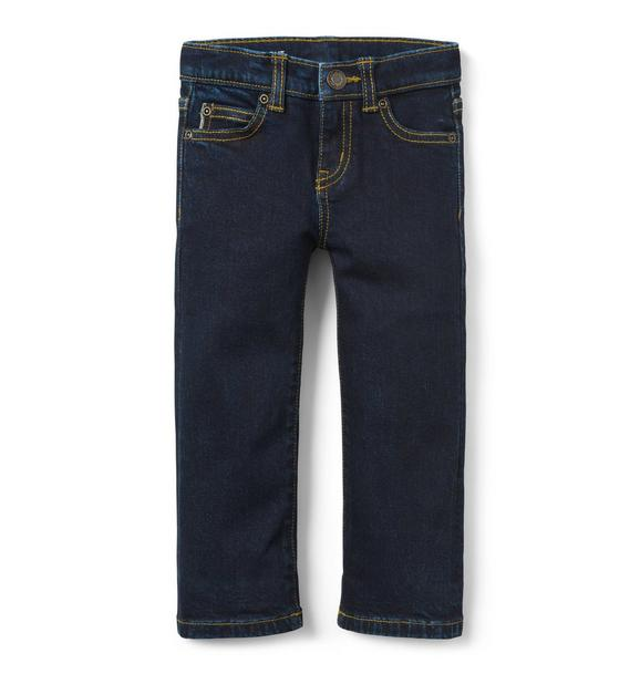 Straight Selvedge Jean in Moonlight Indigo Wash