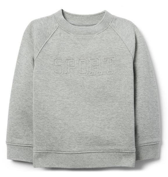 Embossed Sweatshirt