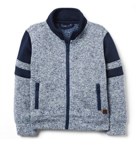 Pieced Fleece Jacket