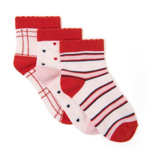 Valentine Sock 3-Pack