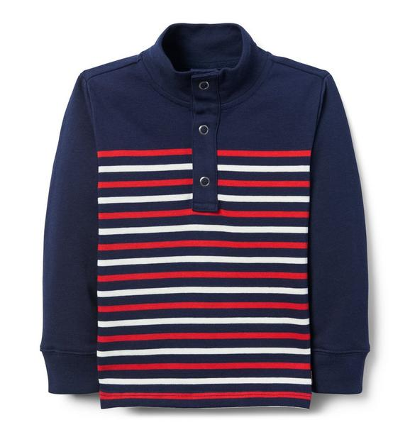 Striped Pique Shirt