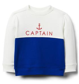 Captain Colorblocked Sweatshirt