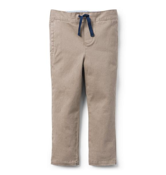 Pull-On Stretch Twill Pant