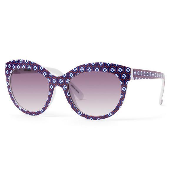 Geo Floral Sunglasses