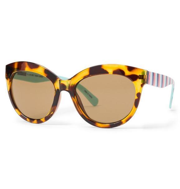 Tortoise Cat-Eye Sunglasses
