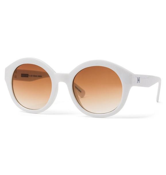 Shimmer Round Sunglasses