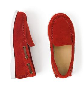 Suede Driving Shoe