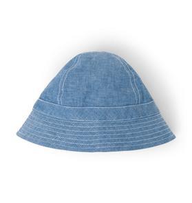 Chambray Bucket Hat