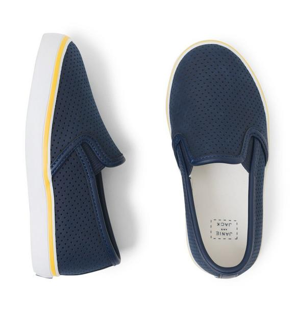 Perforated Slip-On Sneaker