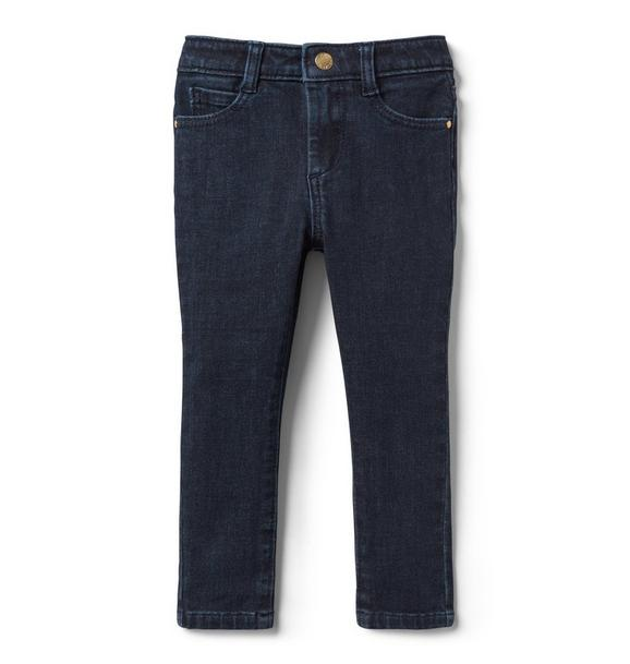 Skinny Jean In Midnight Star Wash
