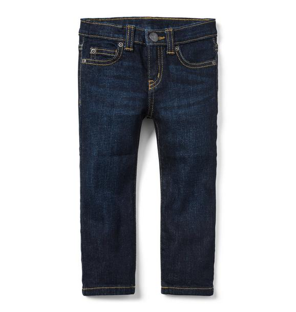 Straight Jean in Midnight Star Wash