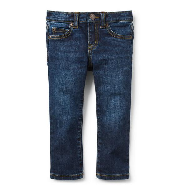 Slim Jean in Atlantic Wash
