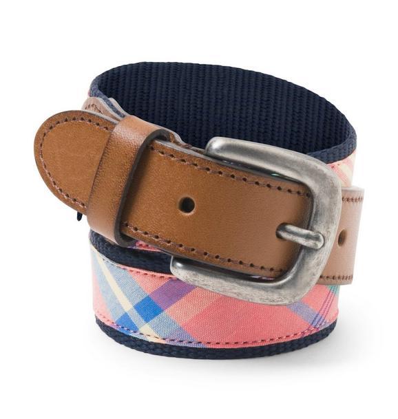 Plaid Belt