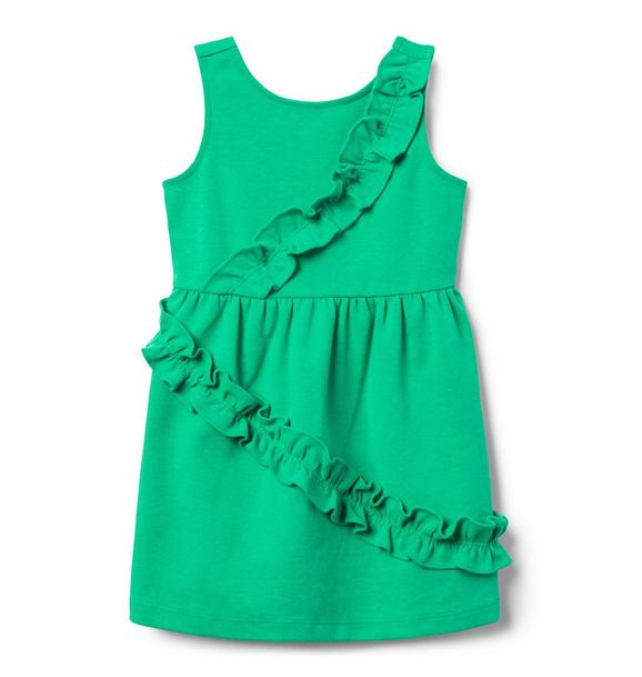 Ruffle Ponte Dress
