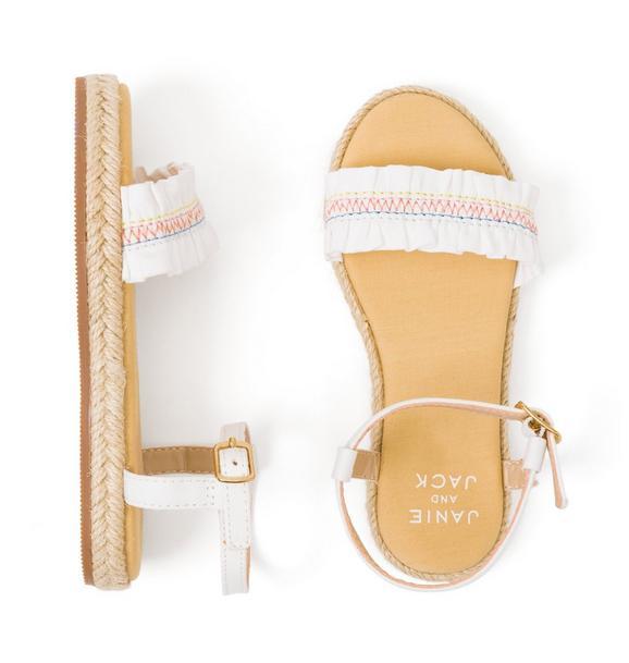 Ruffle Strap Sandal