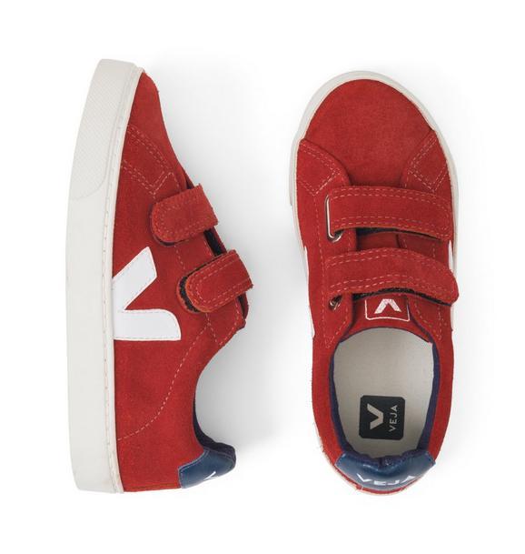 Kid Veja Esplar Suede Sneaker